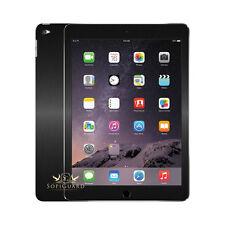 SopiGuard Carbon Fiber Brushed Front + Back Skin for Apple iPad Air 2