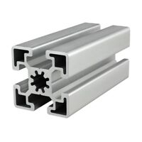 80//20 Inc 40mm x 80mm Aluminum Extrusion 40 Series 40-4084-Lite-Black x 1525mm N