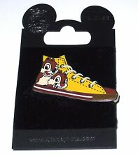 Disney Pin✿Chip Dale Character Sneaker Tennis Shoe with Laces High Top From 2009