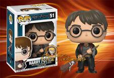 Harry Potter Pop! Funko Harry with Firebolt Vinyl Figure Harry Potter n° 51