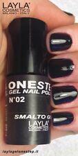 Layla Smalto Unghie One Step Gel Polish N.02 Black