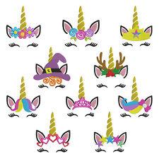 Princess Unicorn * Machine Embroidery Patterns * 10 Designs, 4 sizes