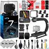 GoPro HERO7 Black 4K 12MP Digital Camcorder w/ 16GB - 23PC Sports Action Bundle