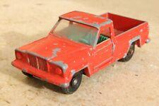 MATCHBOX 71b JEEP GLADIATOR...RARE GREEN INTERIOR  good condition  1960s