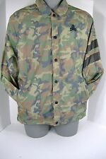 New Mens 2XL XXL NIKE Running Camo Skull & Bones Football Track Rain Jacket $140