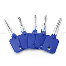 lockpicking 5 Try-Out key cross lock pick tools locksmith unlocking crochetage !