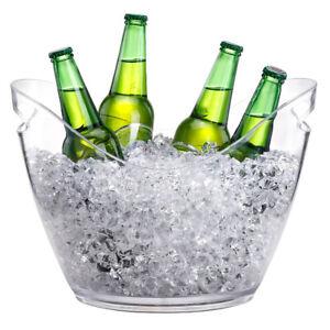 Plastic Ice Bucket Wine Cooler Plastic Drinks