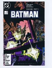 "Batman 406 (Sharp!) ""Year One"" part 3; Frank Miller; DC Comics; 1987 (c#18311)"
