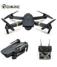 Drone With Camera Live Video, EACHINE E58 WIFI FPV Foldable Quadcopter With 120°