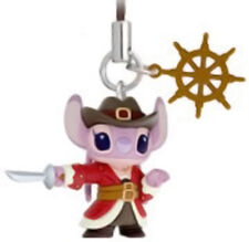 Takara Tomy Disney Stitch Pirates of Carribian Mascot phone strap Angel 1pcs