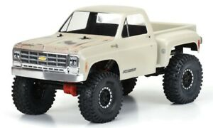 """Pro-Line 3522-00 12.3"""" WB Rock Crawlers 1978 Chevy K-10 Body (Clear)"""