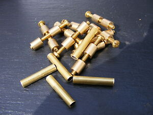 5 PAIR OF 8mm BRASS LOVELESS BOLTS KNIFE MAKING HANDLE SCALES BOLT BUSHCRAFT