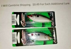 Lot of 2 Cordell Spot 1/2 oz Rattle Trap Fishing Lure 3 inch NEW Glitter Shad
