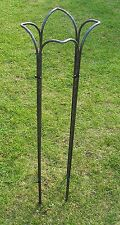 4 X LILY  PLANT/TREE/ FLOWER GARDEN SURROUND SUPPORTS STAKES - 940mm HIGH