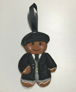 Peaky Blinders Handmade Christmas Birthday Hanging Decoration Gingerbread Man
