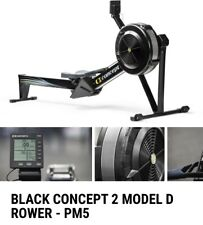 NEW IN BOX Concept 2 Model D Rower Black - PM5 Monitor - READY TO SHIP!