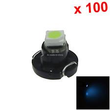 100x Ice Blue AUTO T3 Lamp NEO Dash Twist Socket HVAC Instrument Light 1 1210 SM
