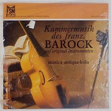 BAROCK: Musica Antique Koln GOEBEL Violin AULOS lp SEALED Audiophile