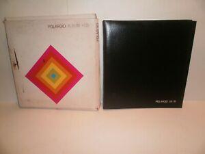 Vintage Polaroid SX-70 Land Camera Photo Album - No.115 -  Holds 56 Photos - NIB