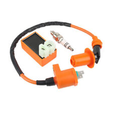 Set Racing Ignition Coil Spark Plug CDI For Gy6 Scooter ATV 50cc 125cc 150cc Hot