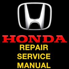 HONDA CR-V CRV 2001 2002 2003 2004 2005 2006  REPAIR SERVICE MANUAL