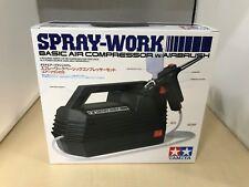 Tamiya Air Brush System No.20 Spray Work Basic Compressor Set With Air Brush