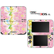 Tinkerbell Fairy Pixie for New Nintendo 3DS XL Skin Decal Cover