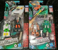 Transformers Earthrise Micromaster TRIP-UP DADDY-O BOMBSHOCK GROWL G1 IN STOCK