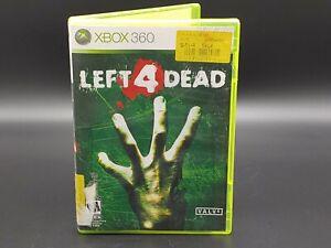 Left 4 Dead (Microsoft Xbox 360, 2008) Missing Artwork