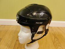 Reebok 8K Pro Stock Hockey Helmet Black Size Small 6 3/8-7 Pre-Owned