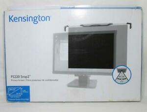 "Kensington FS220 Snap2 Privacy Screen for 20"" to 22"" Widescreen"