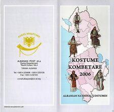 Albania Stamps 2006. Albanian national folk costumes. Booklet Set Sheet MNH