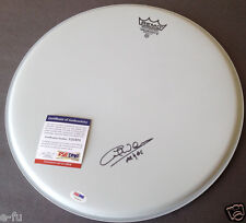 CLIFF WILLIAMS Signed Drum Head AC/DC Inscribed PSA/DNA COA Certified Autograph