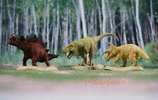 BANDAI Dinosaurs Figure Triceratops Tyrannosaurus T-Rex Cake Topper K1047_A_B_C