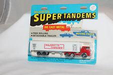Majorette Super Tandems #361 Bernard Tractor Trailer Container Semi, MOC, #4