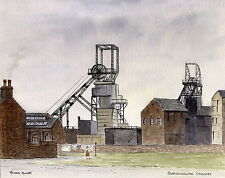 Glasshoughton Colliery - Ltd Ed Print - Pit Pics - Coal Mining