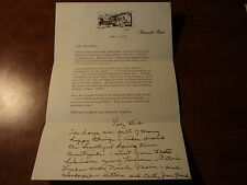 LADY BIRD JOHNSON -- SIGNED LETTER & HANDWRITTEN NOTE --  MAY 5,1972 w/ ENVELOPE