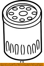 CHRYSLER OEM Engine-Oil Filter 5281090