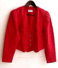 Damen Trachten Janker Jacke rot Gr. 38 v. Meico