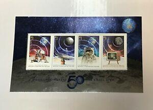 2019 The Moon Landing 50 Years On - MUH Mini Sheet only