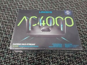 LINKSYS AC4000 GAMING MAX STREAM TRI BAND WIFI 5 ROUTER EA9300 SEALED