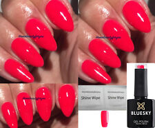 BLUESKY NEON 25 N25 RED / CORAL PINK SUMMER NAIL GEL POLISH UV LED SOAK OFF