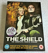 The Shield - Series 4 - Complete (DVD, 2007, 4-Disc Set, Box Set) - New & Sealed