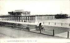 Saint Leonards on Sea. The Pier # 2 by LL /Levy. Black & White.