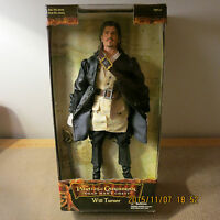 "DISNEY *PIRATES OF THE CARIBBEAN*~WILL TURNER 12"" ACTION FIGURE~ NRFP!!!"