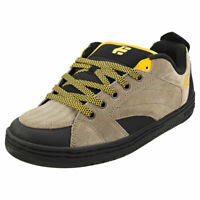Etnies Czar Mens Olive Black Suede & Synthetic Skate Trainers