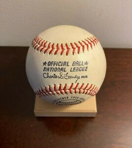 Vintage Spalding Feeney ONL Official National League Baseball - Great Condition!