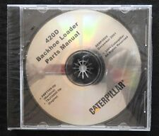 CATERPILLAR 420D BACKHOE LOADER TRACTOR PARTS MANUAL CD SERP 3509 MINT SEALED