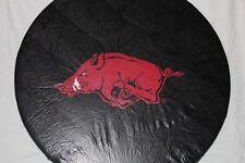 "University of Arkansas Razorbacks Spare Tire Cover up to 32"" Diameter, Vinyl"