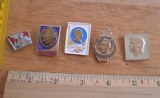 Russian Soviet Space pin lot of 5 from large collection NO RESERVE! VINTAGE 2Y